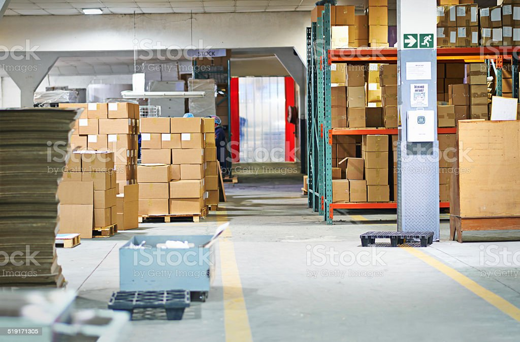 Built for boxes stock photo