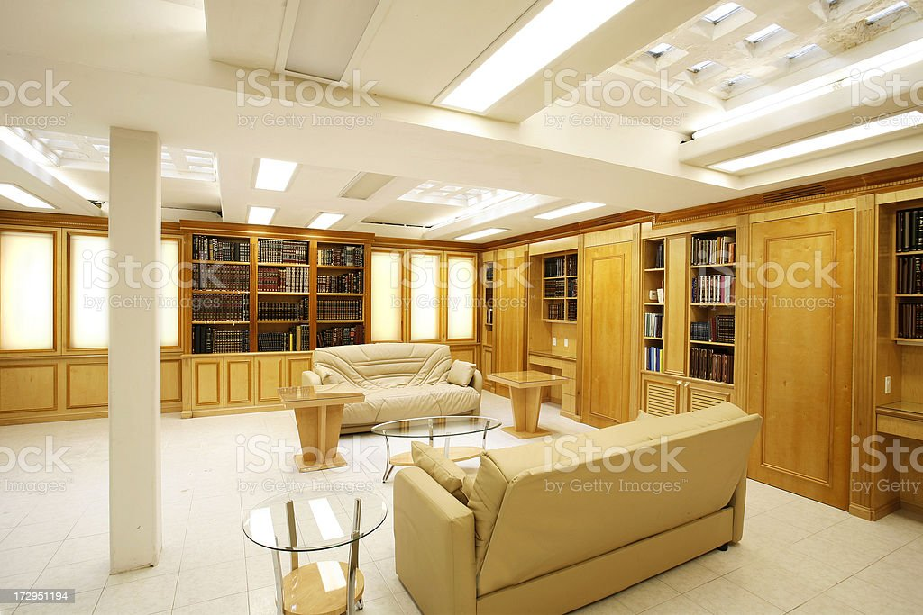 Built in furniture stock photo