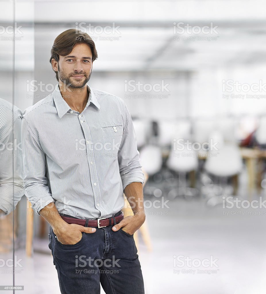 I built this company from the ground up stock photo