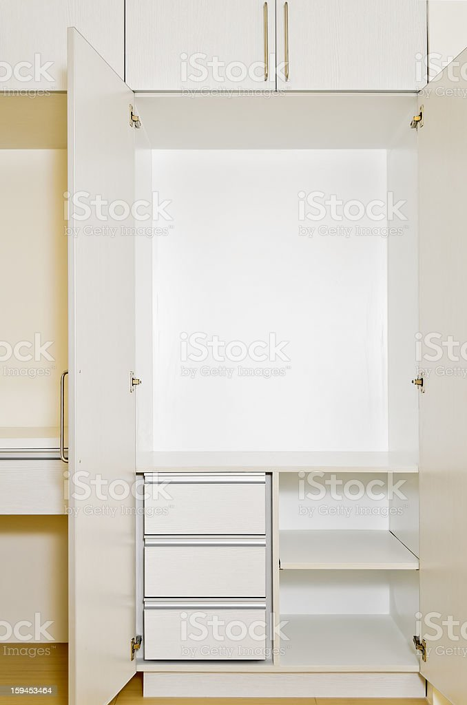 Built-In Cabinet royalty-free stock photo