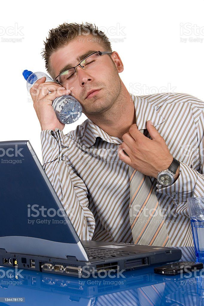 Buisnessman stock photo