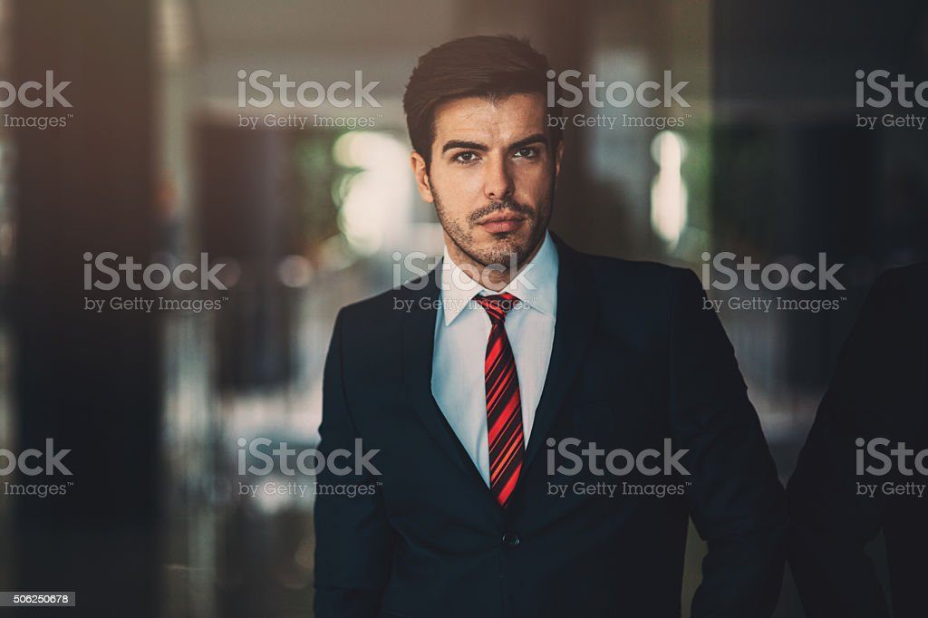 Buisnessman Portrait stock photo