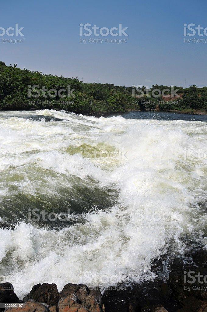Bujagali Falls, Uganda stock photo