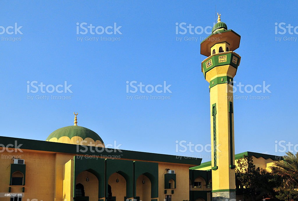 Bujumbura, Burundi: Friday Mosque stock photo