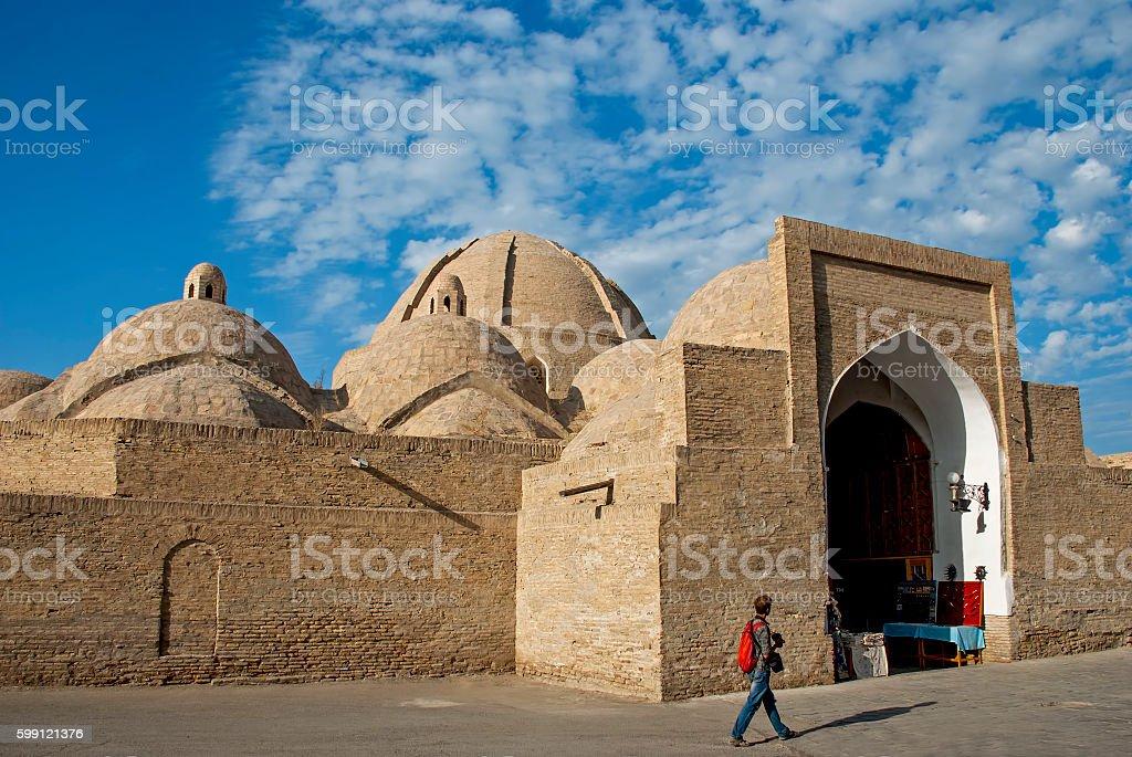 Bukhara Trading Dome stock photo