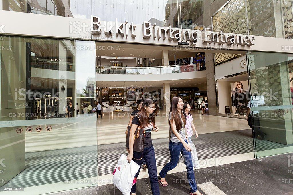 Bukit Bintang, Kuala Lumpur, Malaysia royalty-free stock photo