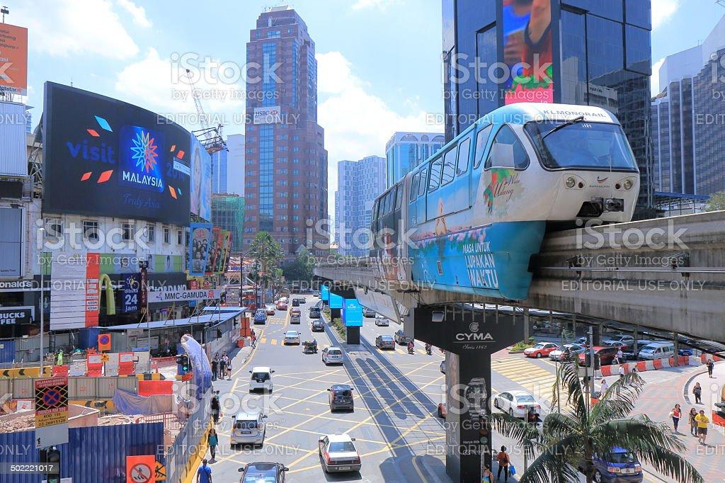 Bukit Bintang Kuala Lumpur Malaysia stock photo