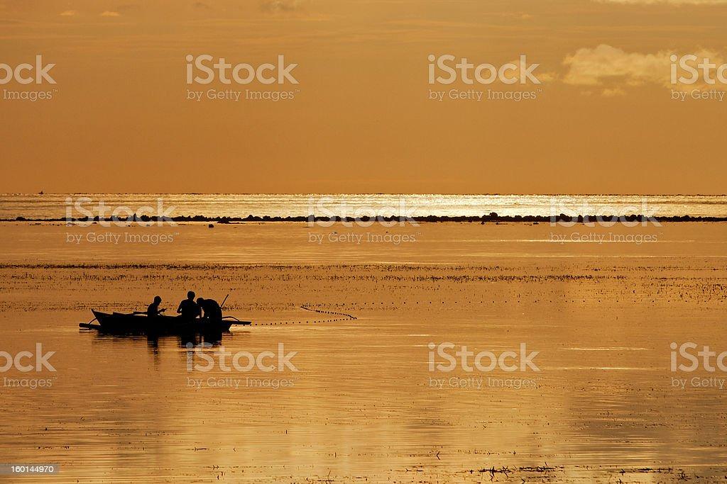 Bulabog Sonnenaufgang Lizenzfreies stock-foto