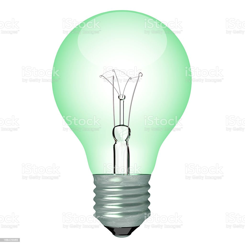 Bulb color light royalty-free stock photo