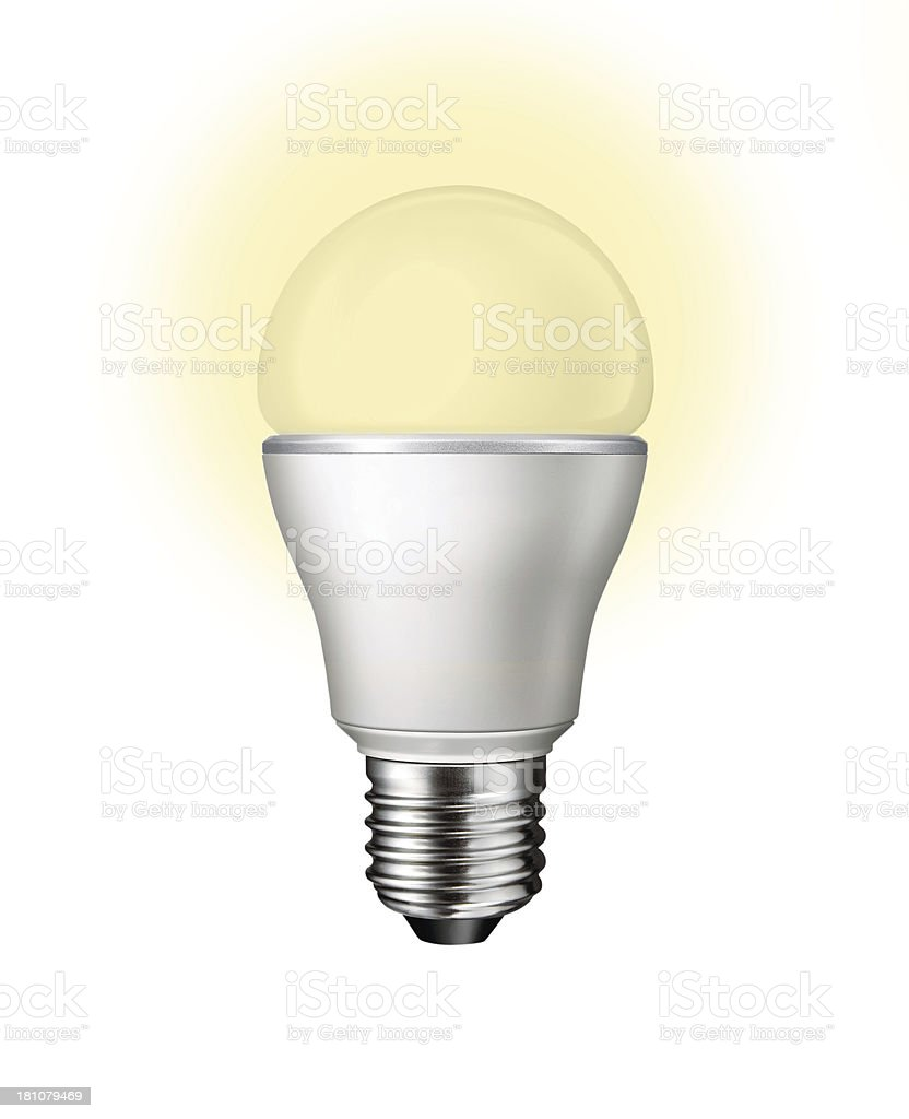 Bulb Isolatet stock photo