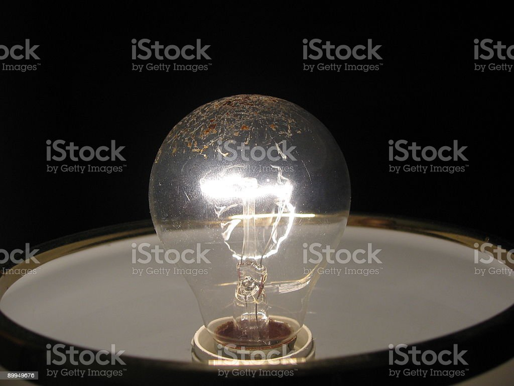 Bulb light royalty-free stock photo