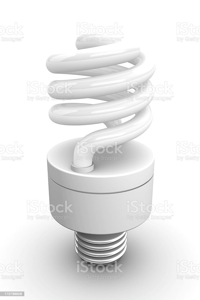 CFL Bulb royalty-free stock photo