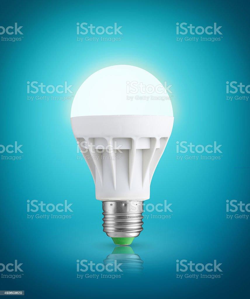 LED bulb stock photo