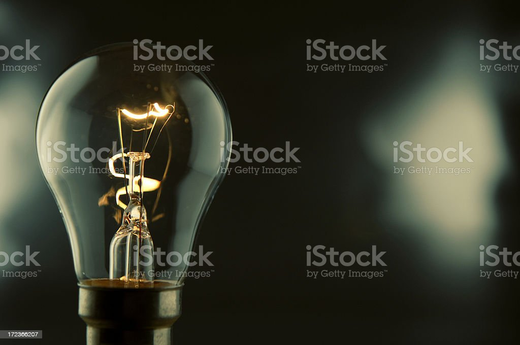 bulb series stock photo