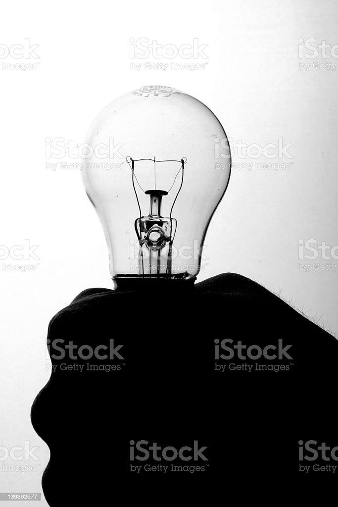 Bulb Three royalty-free stock photo