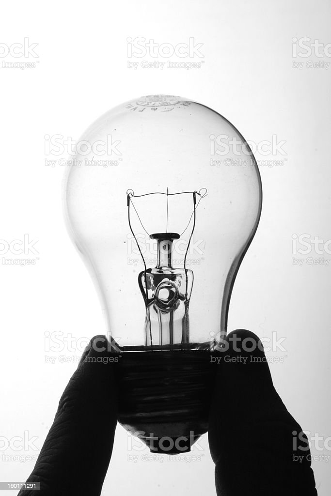 Bulb Two royalty-free stock photo