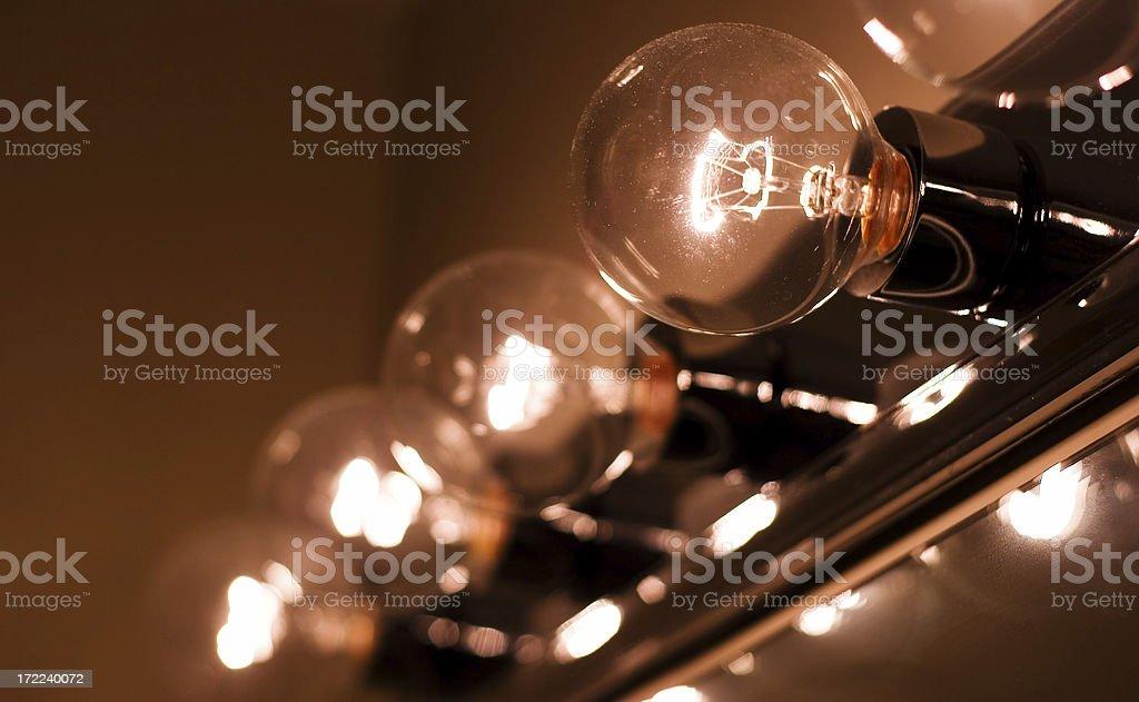 Bulbs royalty-free stock photo