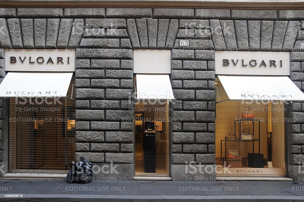 Bulgari -in and out stock photo