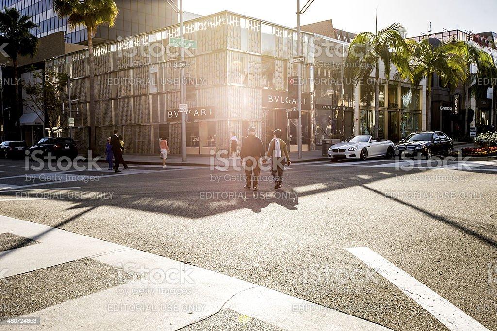 Bulgari Store in Beverly Hills, California, USA stock photo