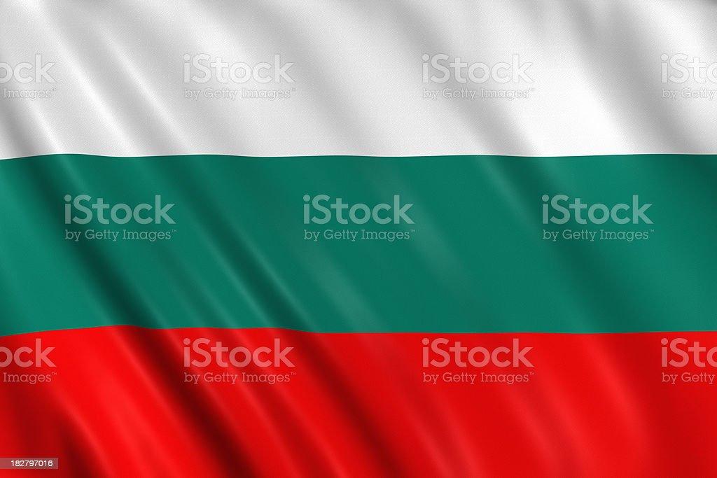 bulgaria flag stock photo