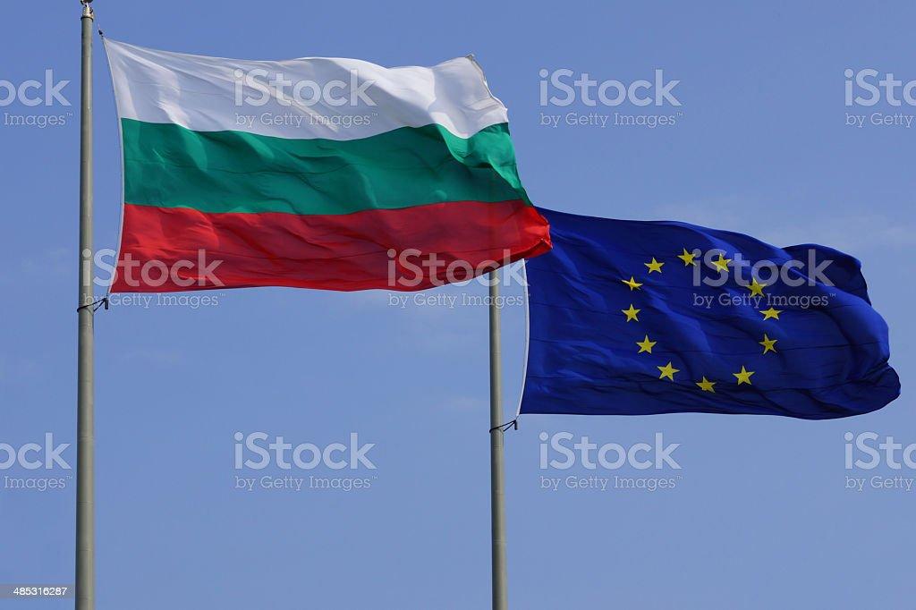 Bulgaria in European Union stock photo