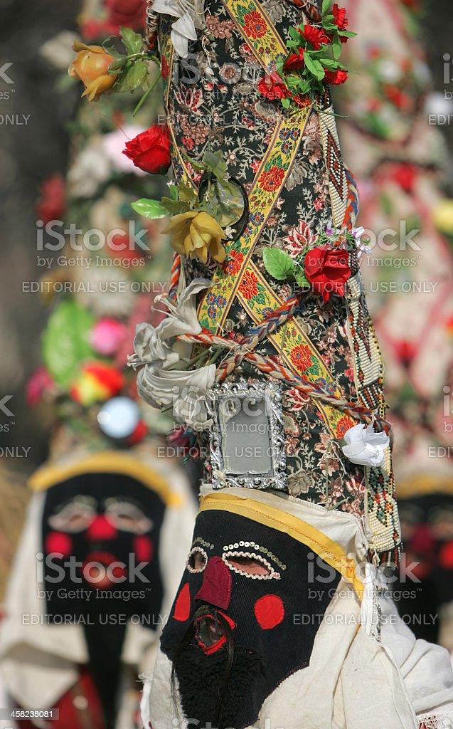 Bulgaria Kukeri Masquerade royalty-free stock photo