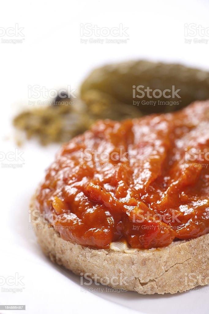 Bulgaro cibo foto stock royalty-free