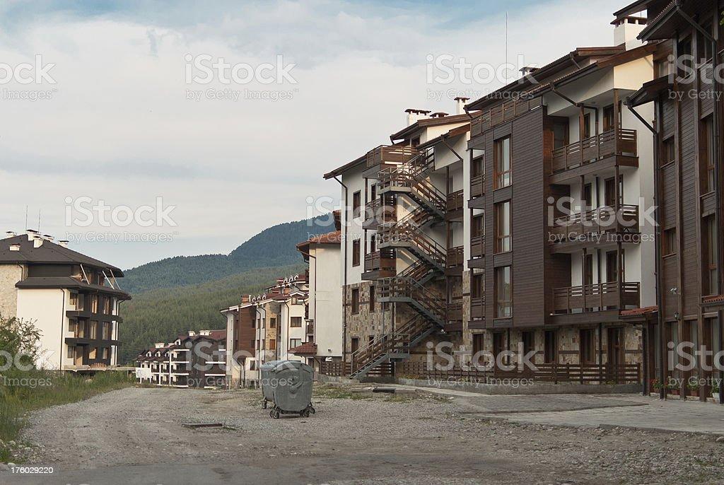 Bulgarian resort royalty-free stock photo