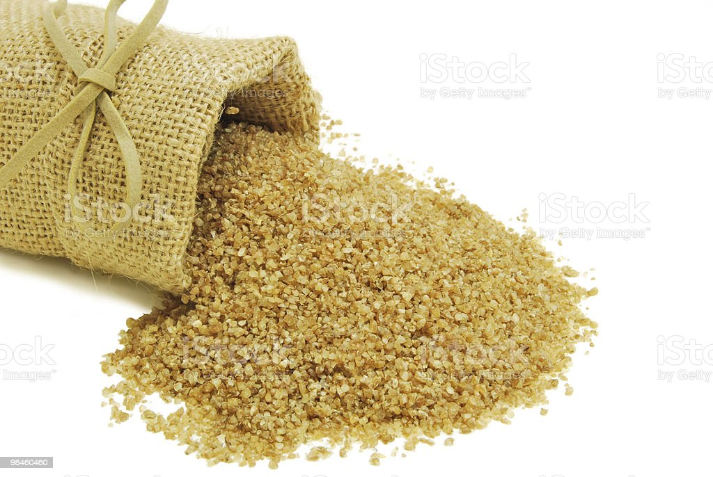 Bulgur wheat royalty-free stock photo