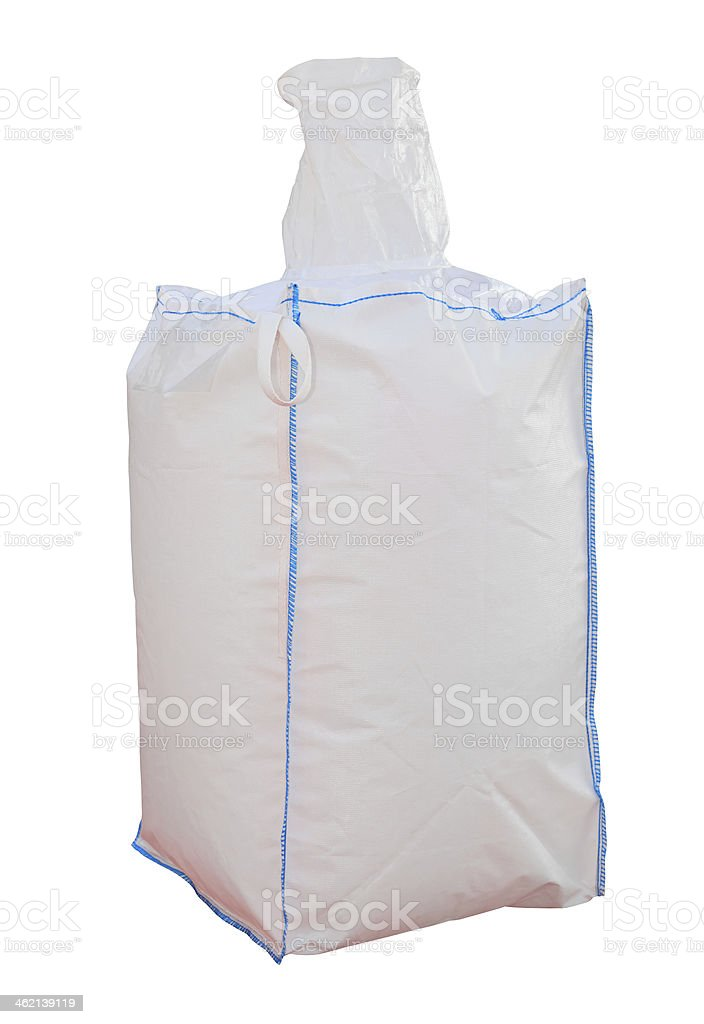 Bulk bag stock photo