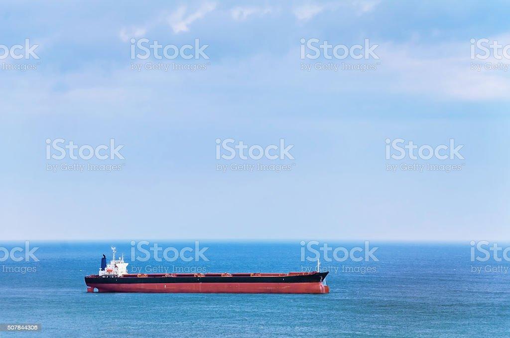 Bulk Carrier stock photo