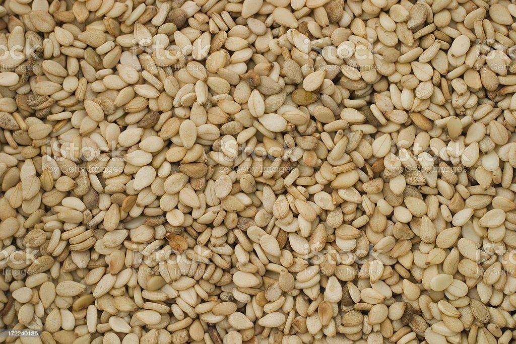 Bulk Food: Sesame Seeds royalty-free stock photo