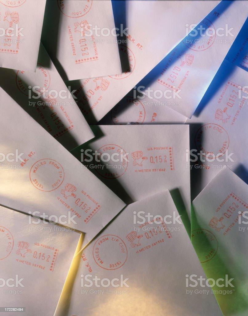 Bulk Mail royalty-free stock photo
