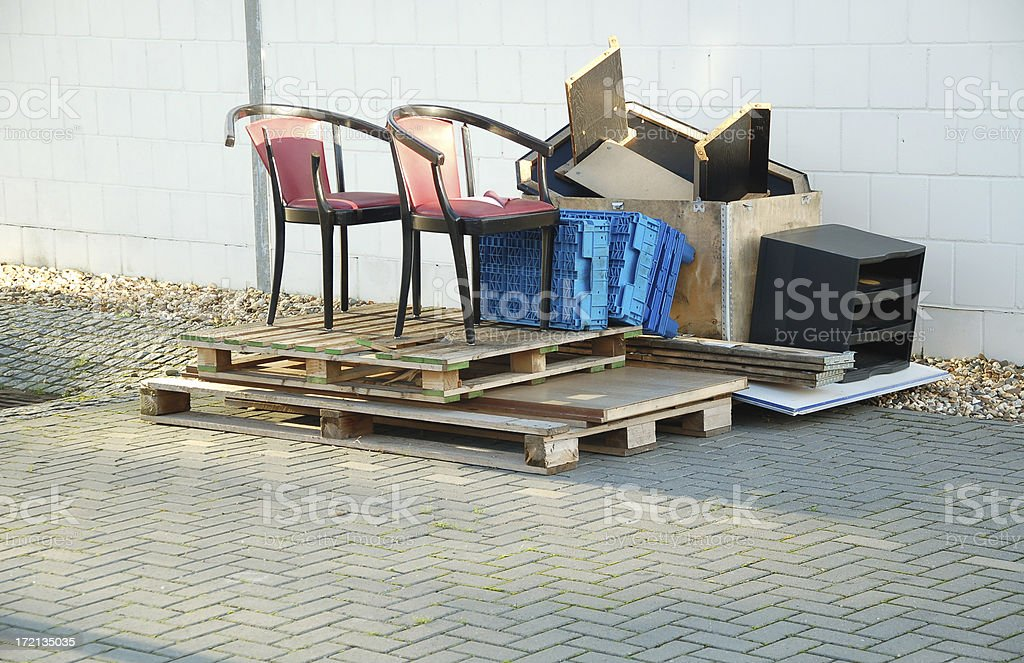 Bulky Waste stock photo
