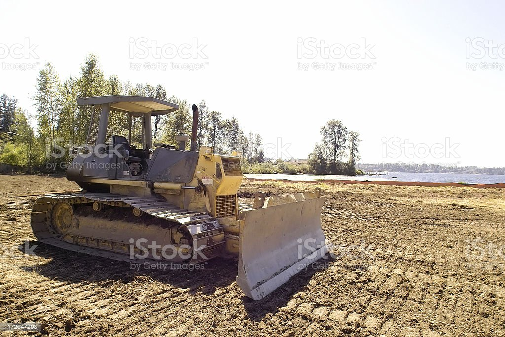 Bull Dozer royalty-free stock photo