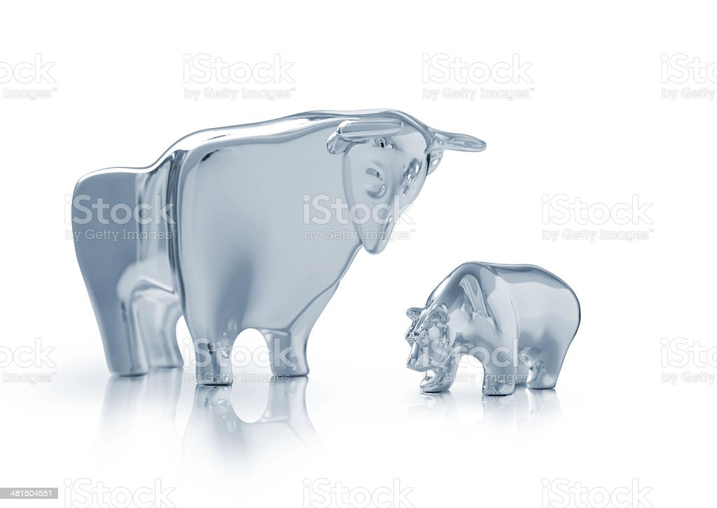 Bull Market stock photo