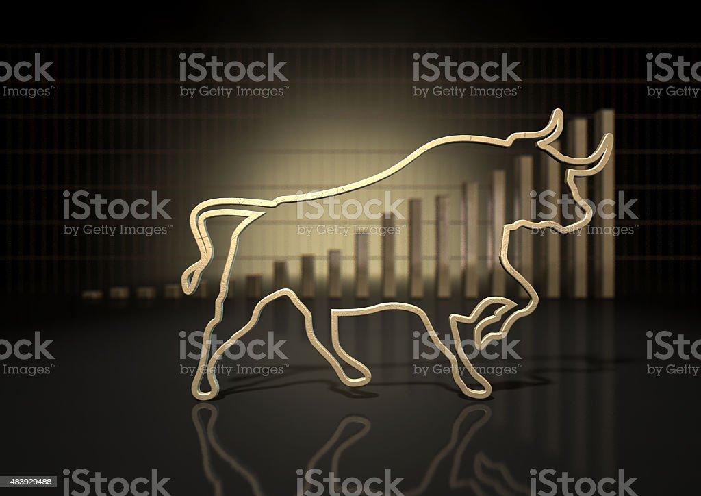 Bull Market Trend stock photo