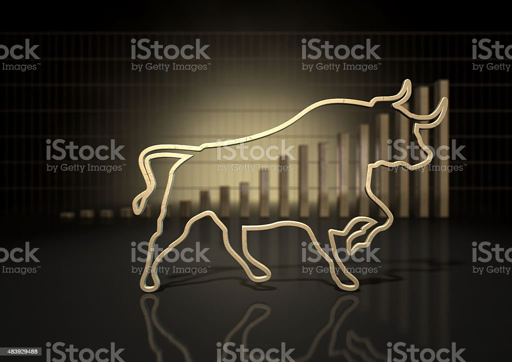 Bull Market Trend stock photo