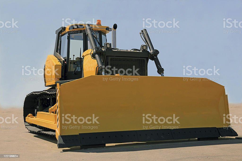 bulldoze royalty-free stock photo