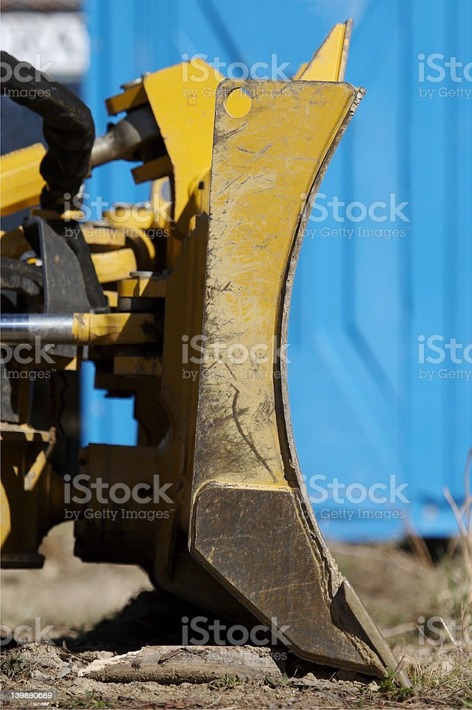 Bulldozer Detail royalty-free stock photo