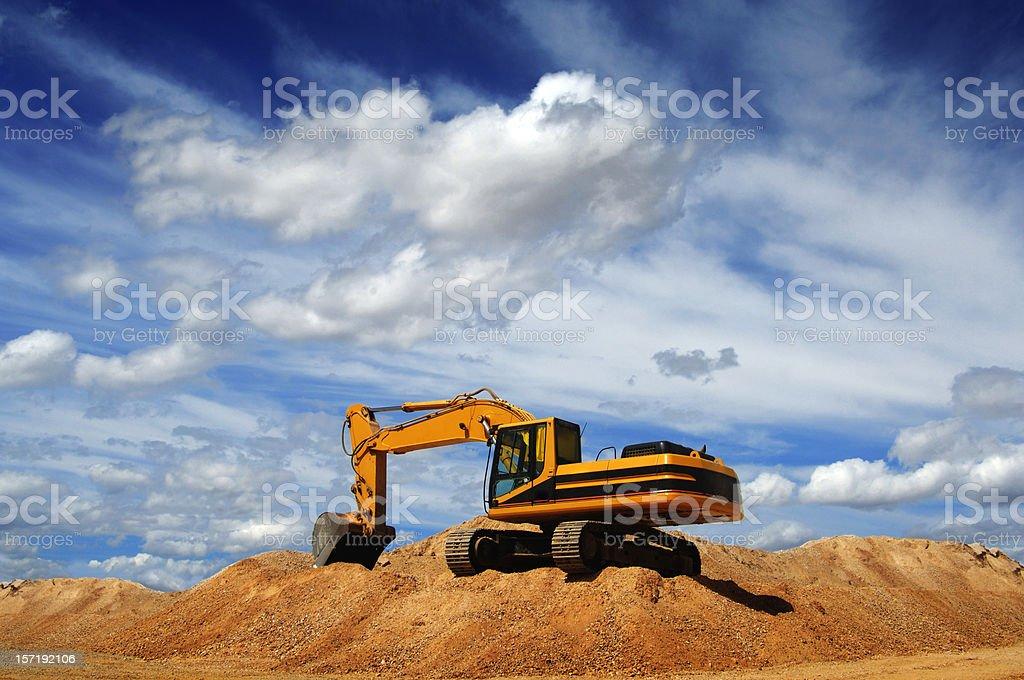 Bulldozer stock photo