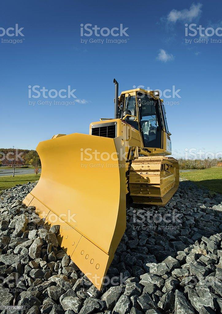 Bulldozer. royalty-free stock photo