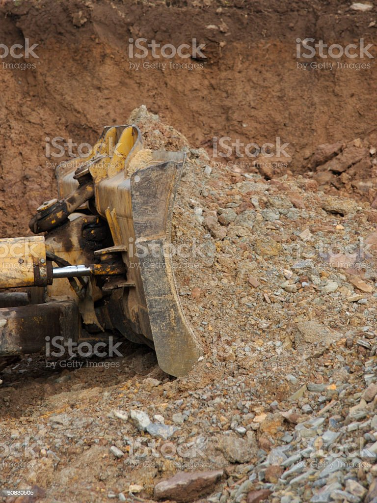 Bulldozer royalty-free stock photo