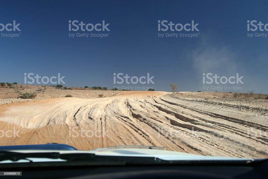 Bulldust Pit stock photo