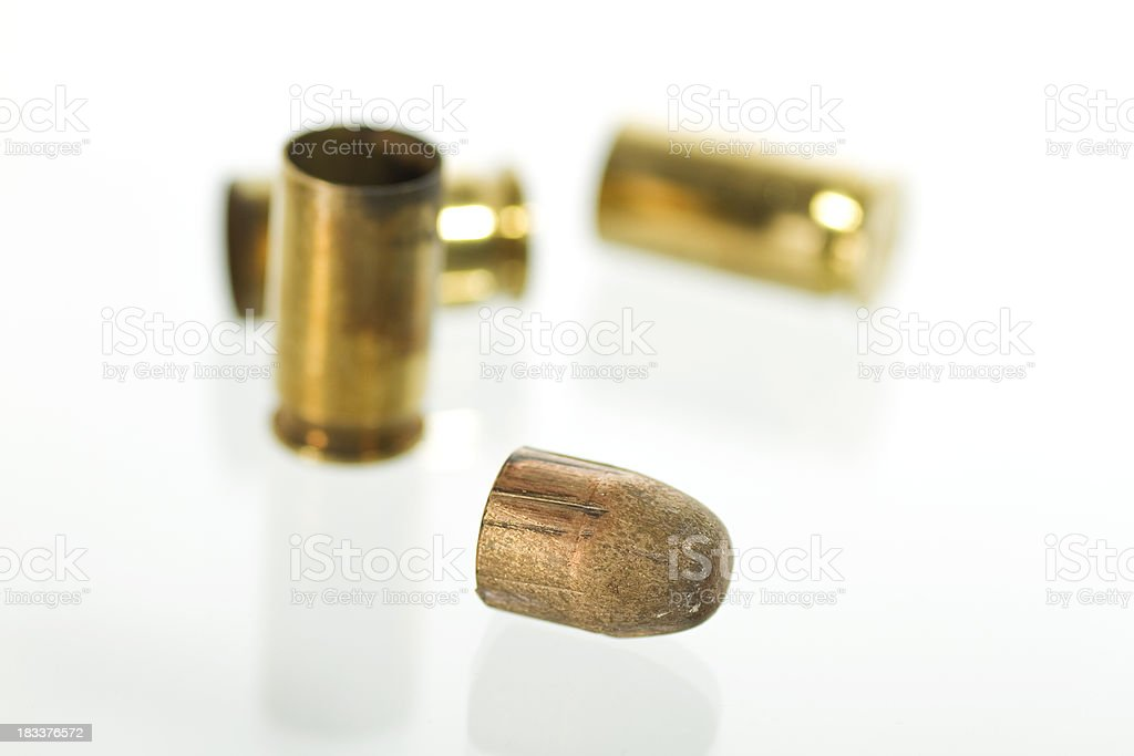 Bullet And Casings royalty-free stock photo