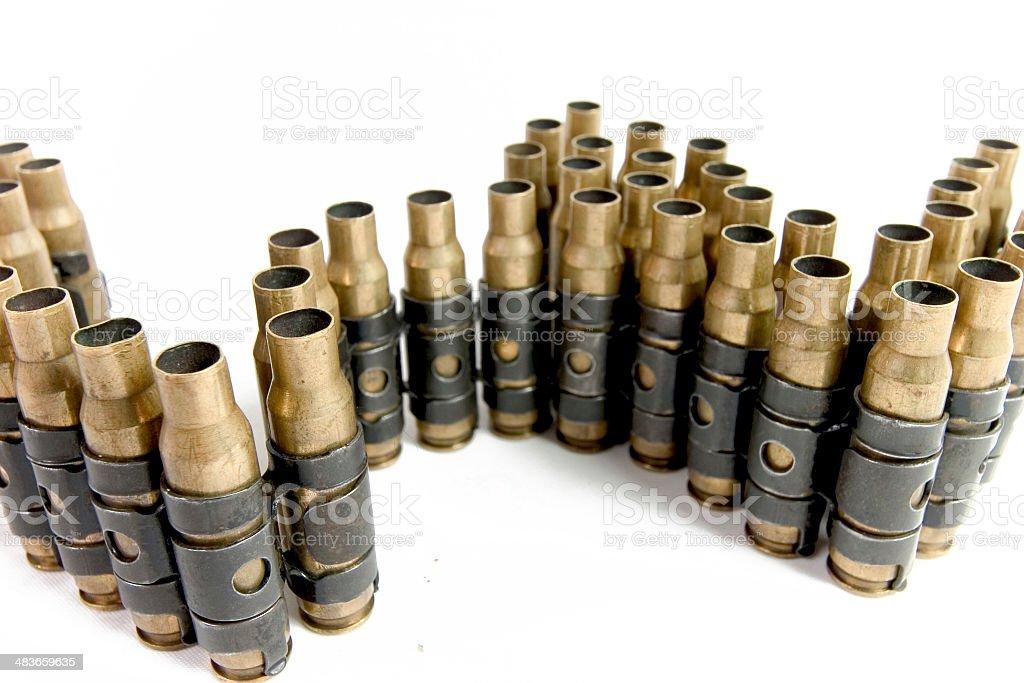 bullet casings royalty-free stock photo
