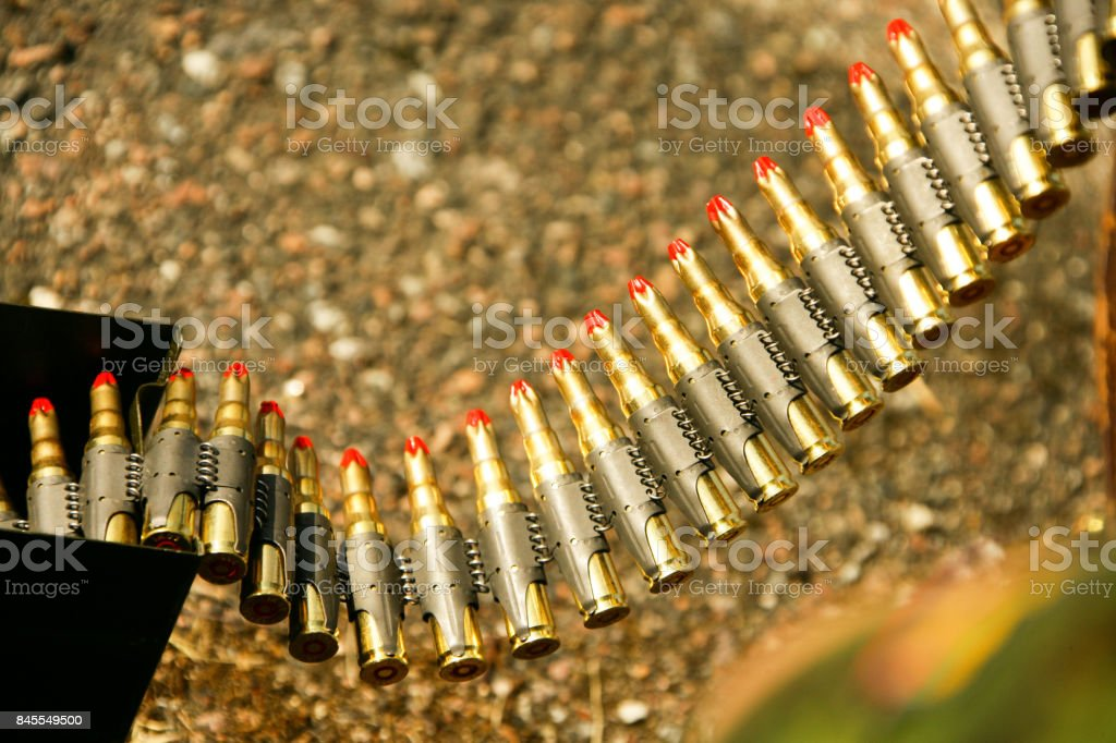 Bullet clamp stock photo