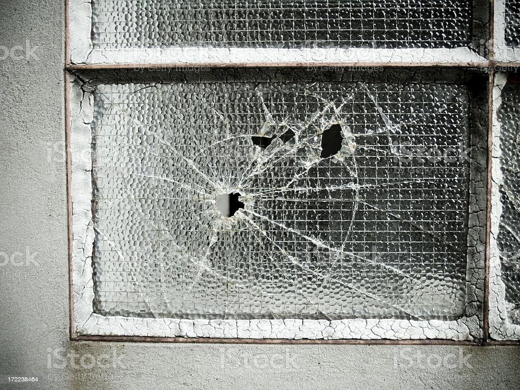Bullet Holes.... royalty-free stock photo