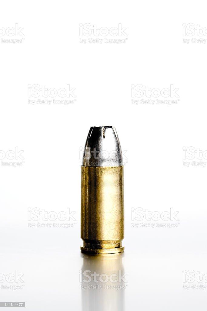 bullet on white royalty-free stock photo