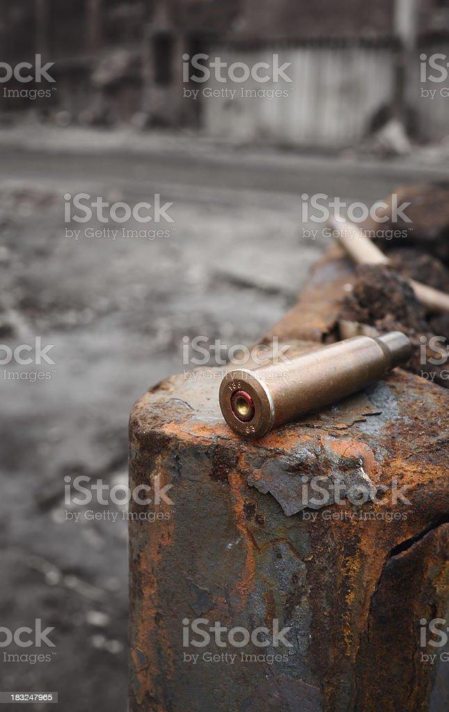 Bullet shells royalty-free stock photo